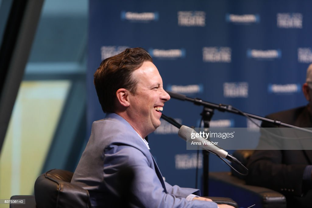 Ken Coleman Sirius XM host Dave Ramsey (R) during Money Expert Dave Ramsey Celebrates 25 Years On The Radio During A SiriusXM Town Hall at Sirius XM Nashville studios on August 22, 2017 in Nashville, Tennessee.