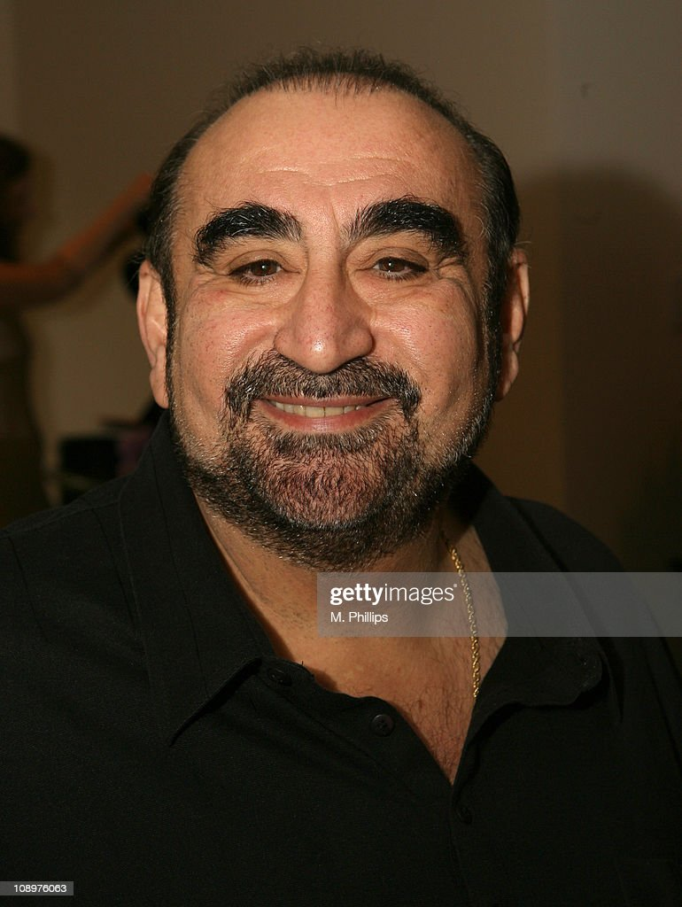 Ken Davitian at Silpada Designs during Silpada Designs at 2007 Silver Spoon Golden Globes Suite - Day 1 in Los Angeles, California, United States.