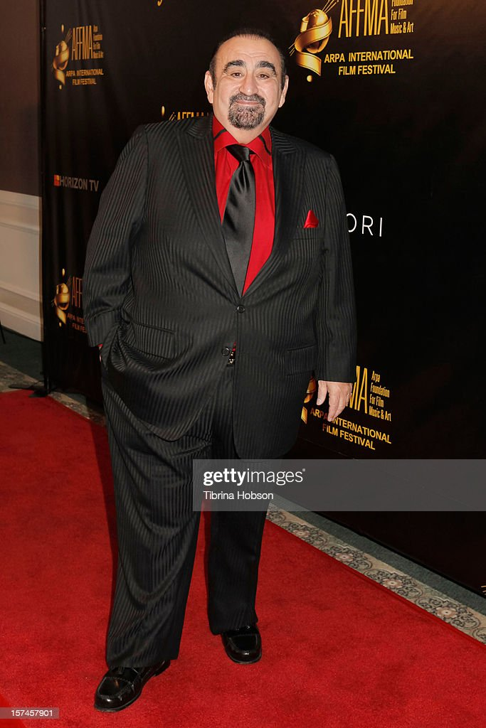 <a gi-track='captionPersonalityLinkClicked' href=/galleries/search?phrase=Ken+Davitian&family=editorial&specificpeople=3970433 ng-click='$event.stopPropagation()'>Ken Davitian</a> attends the Arpa International Film Festival closing night gala at Sheraton Hotel on December 2, 2012 in Universal City, California.