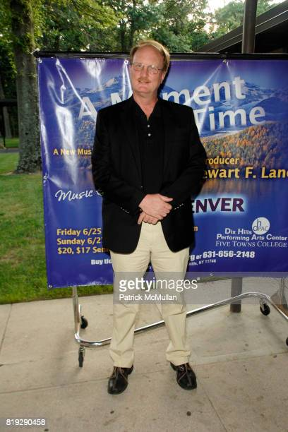 Ken Denison attends Opening of A Moment in Time by Stewart F Lane at Performing Arts Center on June 25 2010 in Dix Hills New York
