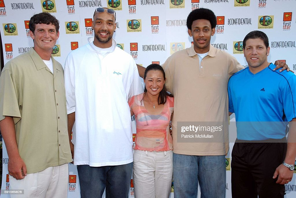 """Ken Dorsey Drew Gooden Pearl SinnBonanni Josh Childress and Tony Meola attend CHILDREN'S RIGHTS CELEBRATED AT FIRST STAR'S 2ND ANNUAL """"COME BE A KID..."""