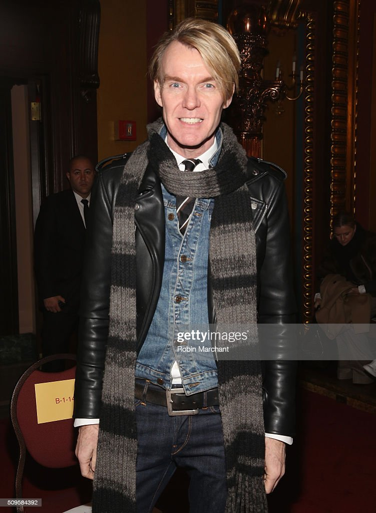 Ken Downing attends Creatures of the Wind during Fall 2016 New York Fashion Week on February 11, 2016 in New York City.