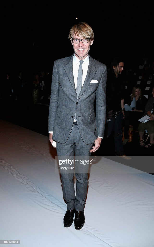 Ken Downing attends the Kaufmanfranco fashion show during Mercedes-Benz Fashion Week Spring 2014 at The Theatre at Lincoln Center on September 9, 2013 in New York City.