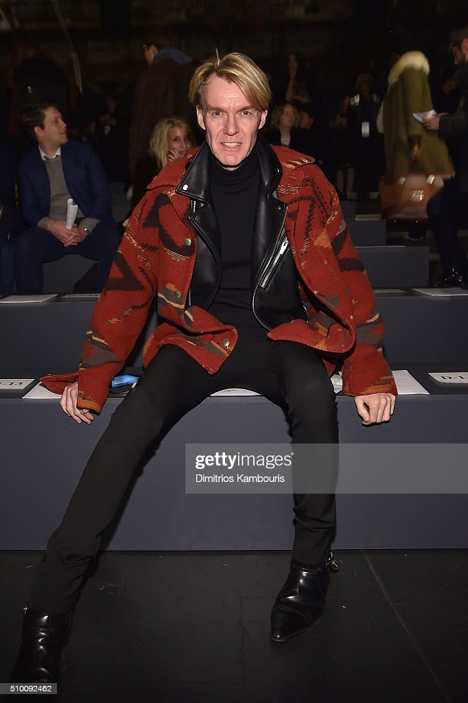 Ken Downing attends the Monique Lhuillier Fall 2016 fashion show during New York Fashion Week: The Shows at The Arc, Skylight at Moynihan Station on February 13, 2016 in New York City.