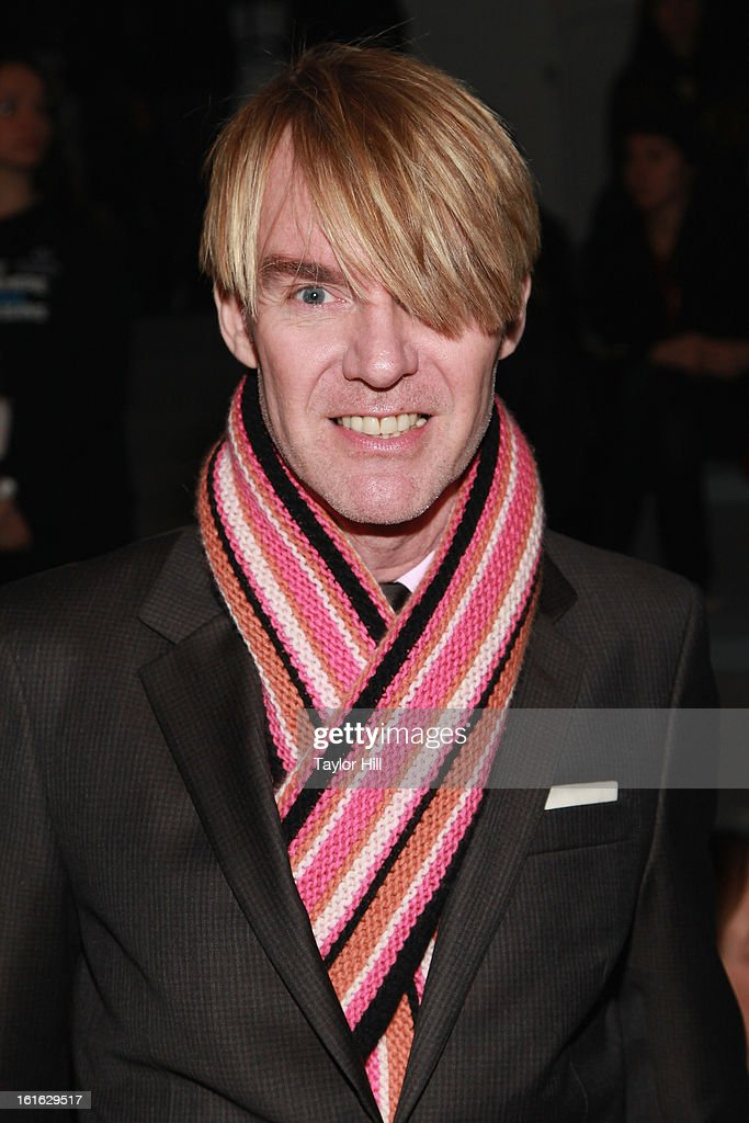 Ken Downing of Neiman Marcus attends the Nanette Lepore Fall 2013 Mercedes-Benz Fashion Show at The Stage at Lincoln Center on February 13, 2013 in New York City.