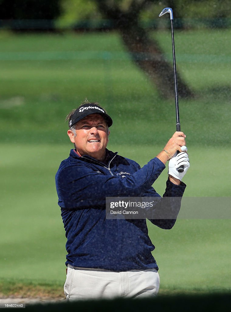Ken Duke of the United States plays his second shot at the par 4, 10th hole during the final round of the 2013 Arnold Palmer Invitational Presented by Mastercard at Bay Hill Golf and Country Club on March 25, 2013 in Orlando, Florida.