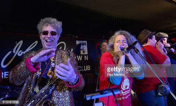 Ken Field and the Revolutionary Snake Ensemble and Annie Raines perform as the Historic Blues Club Johnny D's Uptown Restaurant and Music Club plays...