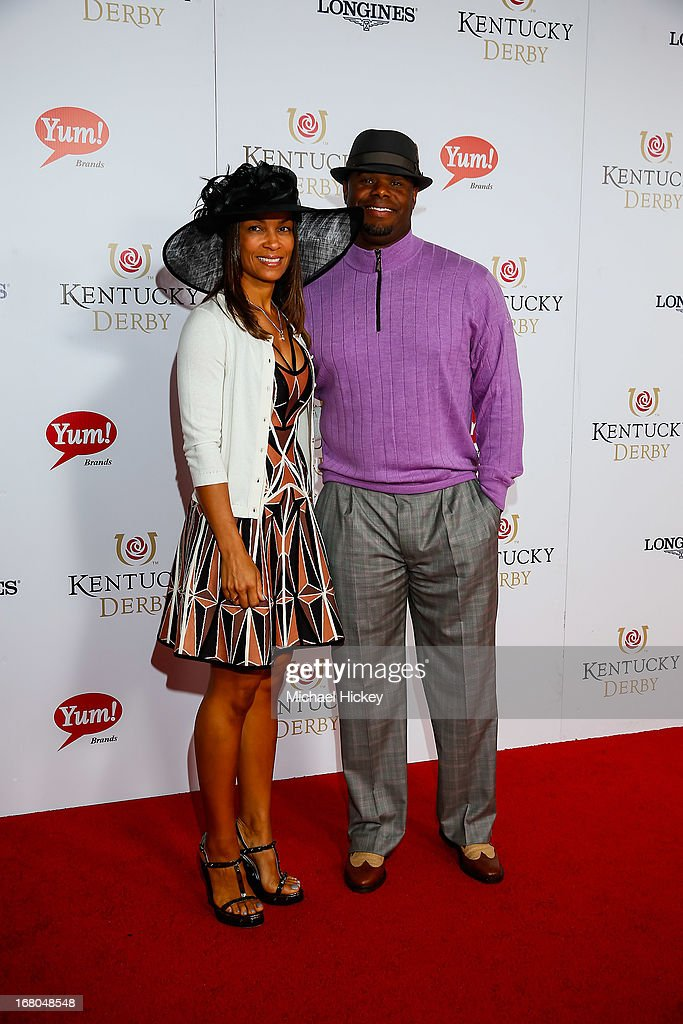 Ken Griffey Jr attends 139th Kentucky Derby at Churchill Downs on May 4, 2013 in Louisville, Kentucky.