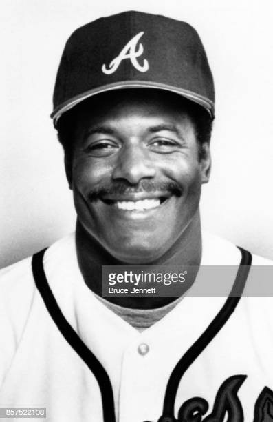 Ken Griffey of the Atlanta Braves poses for a portrait during Spring Training circa March 1987 in Orlando Florida