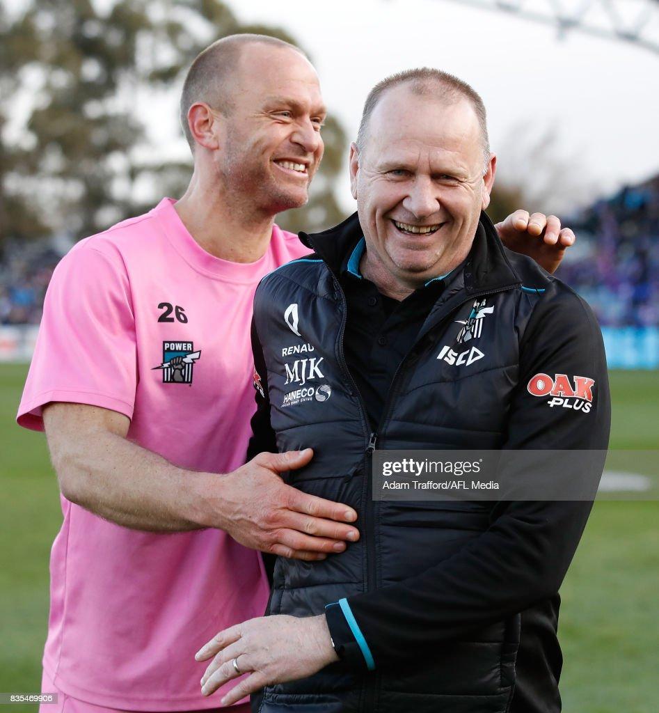 AFL Rd 22 - Western Bulldogs v Port Adelaide