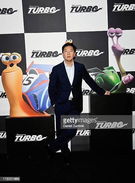 Ken Jeong attends the 'Turbo' New York Premiere at AMC Loews Lincoln Square on July 9 2013 in New York City