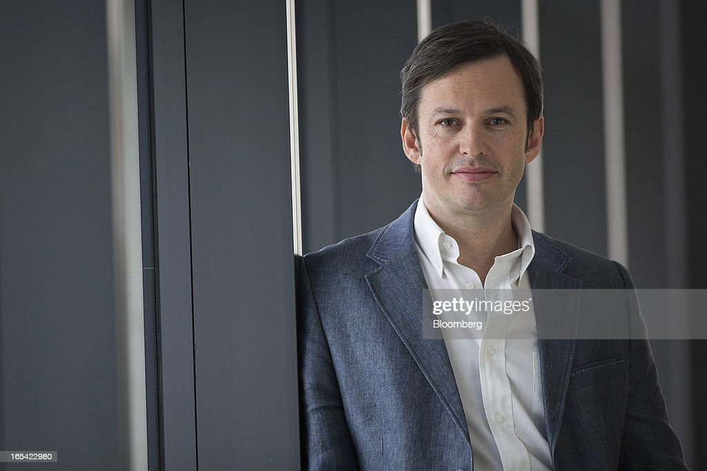 Ken Johnstone, chief executive officer of INQ Mobile Ltd., poses for a photograph in London, U.K., on Thursday, April 4, 2013. Facebook Inc. has worked with mobile device makers such as Britain's INQ Mobile Ltd. to create phones that make it easier to use social websites such as Facebook and Twitter. Photographer: Simon Dawson/Bloomberg via Getty Images