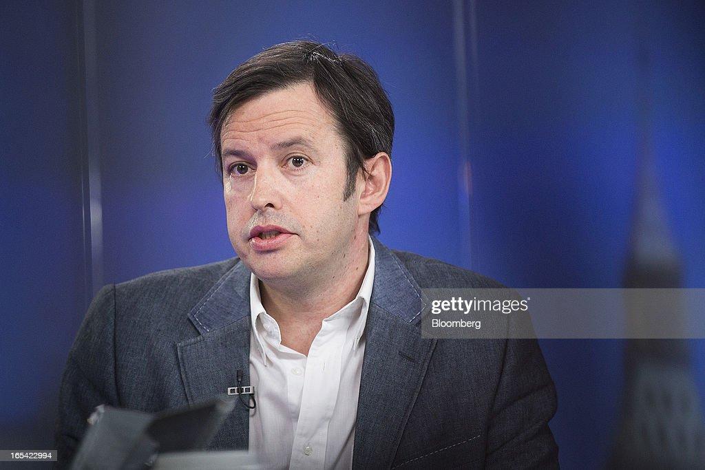 Ken Johnstone, chief executive officer of INQ Mobile Ltd., speaks during a Bloomberg Television interview in London, U.K., on Thursday, April 4, 2013. Facebook Inc. has worked with mobile device makers such as Britain's INQ Mobile Ltd. to create phones that make it easier to use social websites such as Facebook and Twitter. Photographer: Simon Dawson/Bloomberg via Getty Images