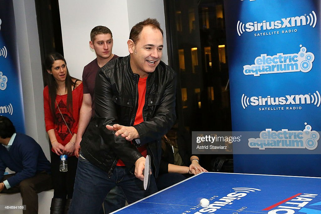 <a gi-track='captionPersonalityLinkClicked' href=/galleries/search?phrase=Ken+Jordan&family=editorial&specificpeople=635720 ng-click='$event.stopPropagation()'>Ken Jordan</a> of The Crystal Method visits SiriusXM's 'Electric Aquarium' Series on Electric Area at SiriusXM Studios on January 23, 2014 in New York City.