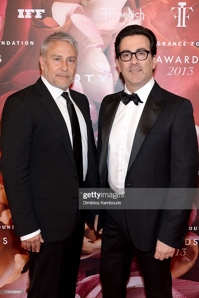 Ken Kaufman and Isaac Franco attend the 2013 Fragrance Foundation Awards at Alice Tully Hall at Lincoln Center on June 12, 2013 in New York City.