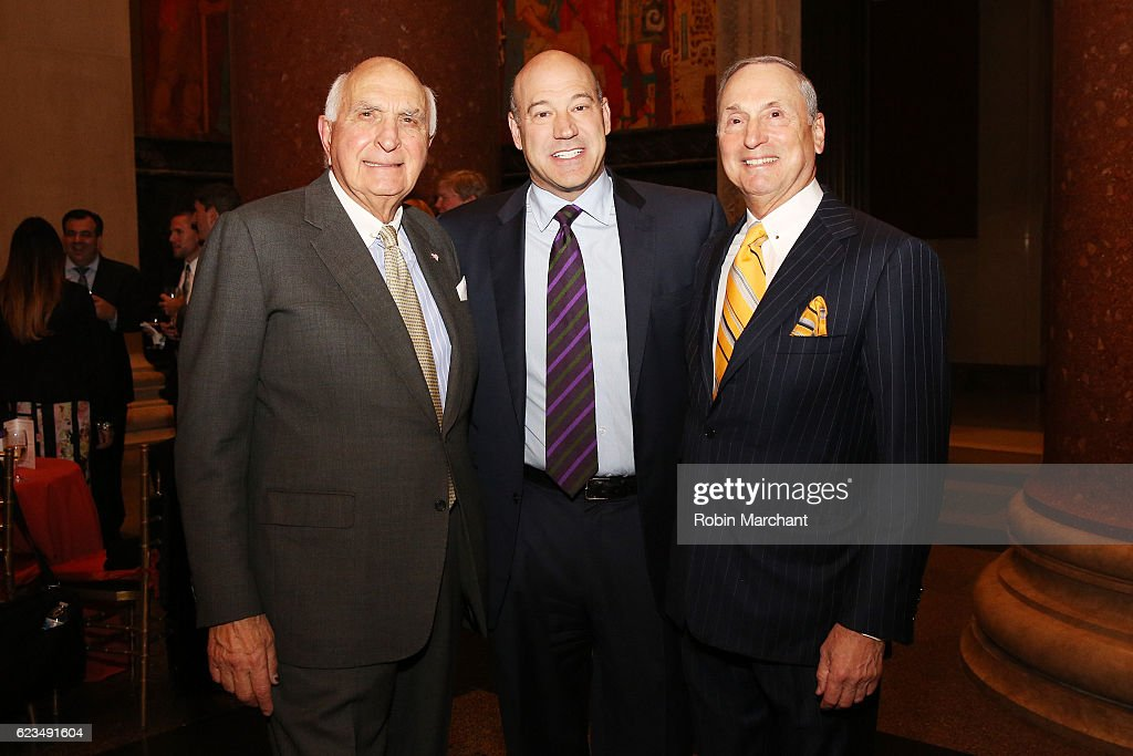 Ken Langone, president and COO of Goldman Sachs Gary Cohn, and Dr. Robert I. Grossman MD attend the NYU Langone Musculoskeletal Ball 2016 on November 15, 2016 in New York City.