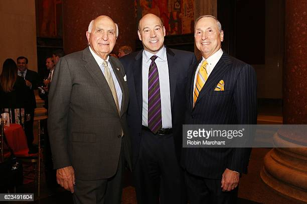Ken Langone president and COO of Goldman Sachs Gary Cohn and Dr Robert I Grossman MD attend the NYU Langone Musculoskeletal Ball 2016 on November 15...