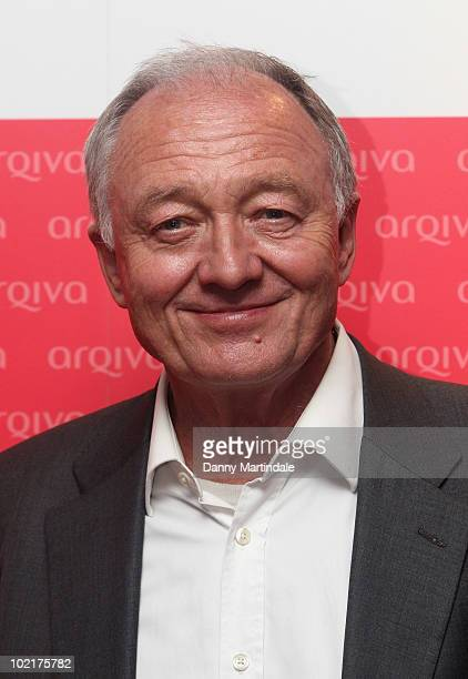 Ken Livingstone attends at the Arqiva Commercial Radio Awards at Park Plaza Hotel on June 17 2010 in London England