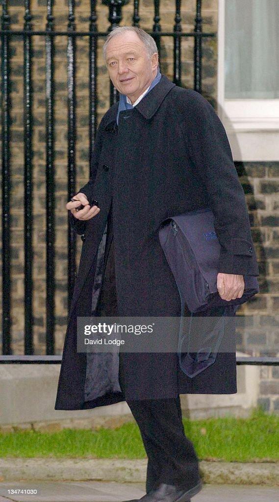 Ken Livingstone Arrives at 10 Downing Street - January 19, 2006