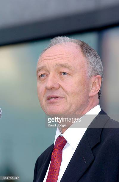 Ken Livingstone during Olympic Torch Relay Torchbearers Reception at City Hall in London Great Britain