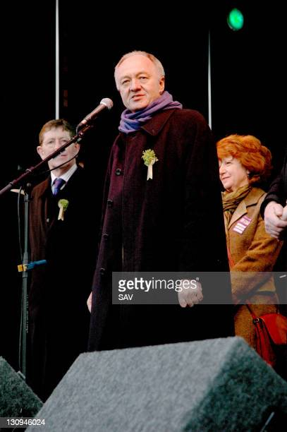 Ken Livingstone during St Patrick's Day Festival in London March 12 2006 in London Great Britain
