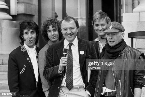 Ken Livingstone proving to be a chip off the old block joining the showbiz scene and teaming up with the Flying Pickets for a record produced by the...