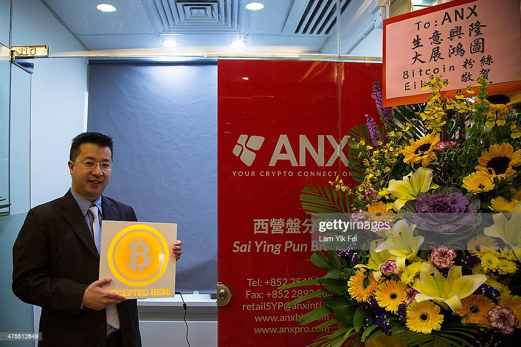 Ken Lo, CEO and co-founder of ANX company, attends the first bitcoin retail store open in Hong Kong on February 28, 2014 in Hong Kong. Asia Nexgen, a Hong Kong based bitcoin exchange has launched a physical store enabling customers to purchase bitcoin and store it in their digital bitcoin wallets. Bitcoin Group HK and Hong Kong Bitcoin ATM plan to launch bitcoin 'ATM's machines in the area. in 2008 Bitcoin was launched as an alternative currency, with the commodity boasting the ability to be transferred without the need of the traditional monetary banking system.
