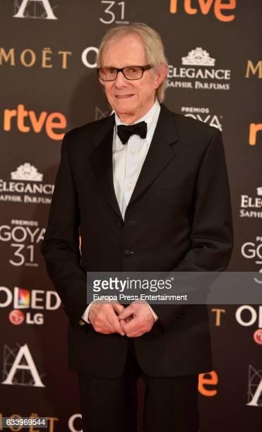 Ken Loach attends Goya Cinema Awards 2017 at Madrid Marriott Auditorium on February 4 2017 in Madrid Spain