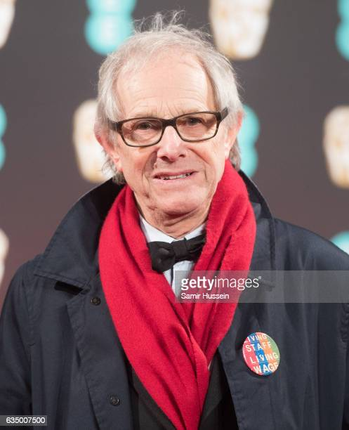 Ken Loach attends the 70th EE British Academy Film Awards at Royal Albert Hall on February 12 2017 in London England
