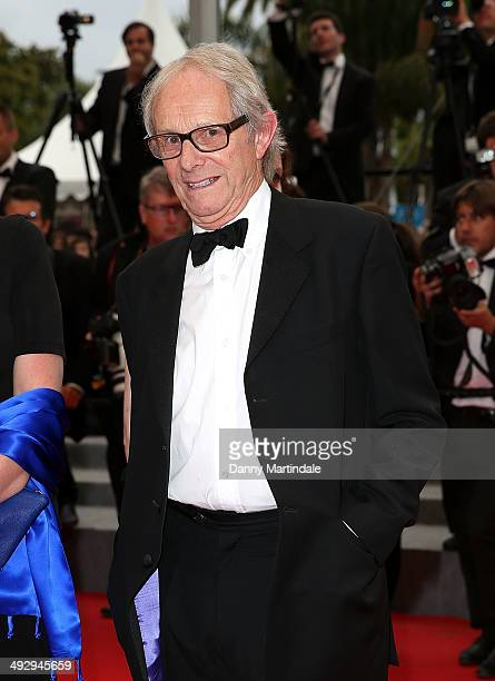 Ken Loach attends the 'Jimmy's Hall' Premiere at the 67th Annual Cannes Film Festival on May 22 2014 in Cannes France