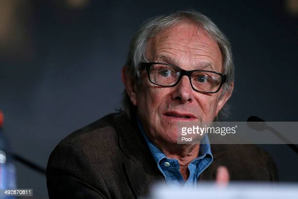 Ken Loach attends the 'Jimmy's Hall' press conference during the 67th Annual Cannes Film Festival on May 22 2014 in Cannes France