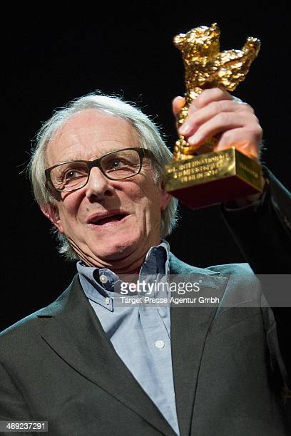 Ken Loach attends the Ken Loach Hommage during 64th Berlinale International Film Festival at Berlinale Palast on February 13 2014 in Berlin Germany