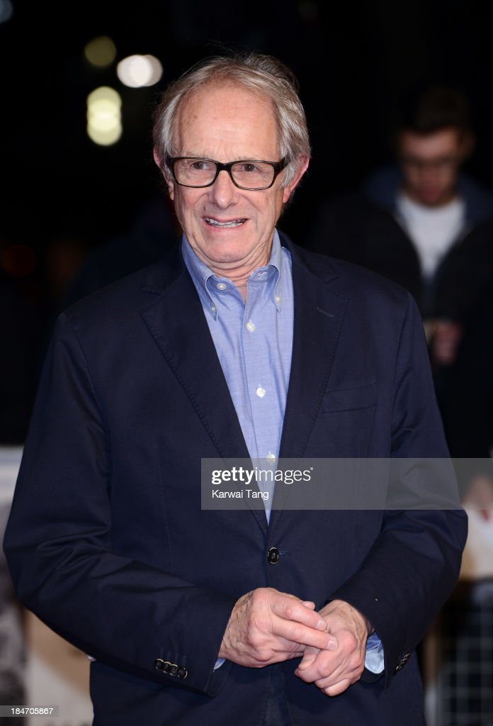 <a gi-track='captionPersonalityLinkClicked' href=/galleries/search?phrase=Ken+Loach&family=editorial&specificpeople=233467 ng-click='$event.stopPropagation()'>Ken Loach</a> attends the screening of 'Inside Llewyn Davis' Centrepiece Gala supported by the mayor of London during the 57th BFI London Film Festival at the Odeon Leicester Square on October 15, 2013 in London, England.