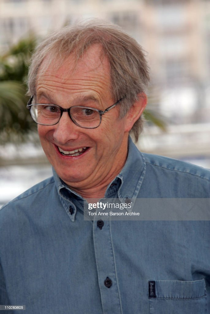 <a gi-track='captionPersonalityLinkClicked' href=/galleries/search?phrase=Ken+Loach&family=editorial&specificpeople=233467 ng-click='$event.stopPropagation()'>Ken Loach</a>, director during 2006 Cannes Film Festival - 'The Wind That Shakes The Barley' - Photocall at Palais Du Festival in Cannes, France.