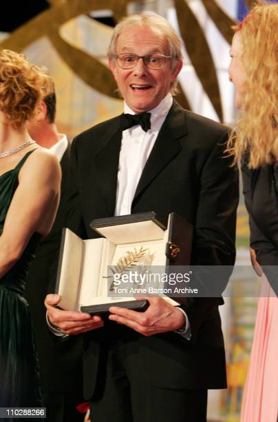 Ken Loach winner of the 59th Annual Cannes Film Festival Palme D'Or for 'The Wind That Shakes the Barley'