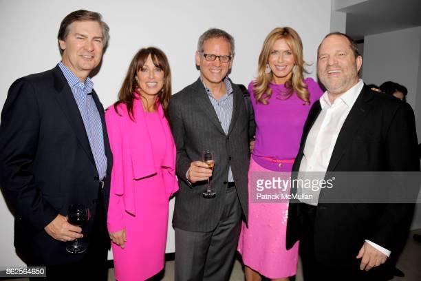 Ken Lowe Julia Baker David Steinberger Kathy Freston and Harvey Weinstein attend KATHY FRESTON BOOK PARTY HOSTED BY ARIANNA HUFFINGTON AND WENDI...