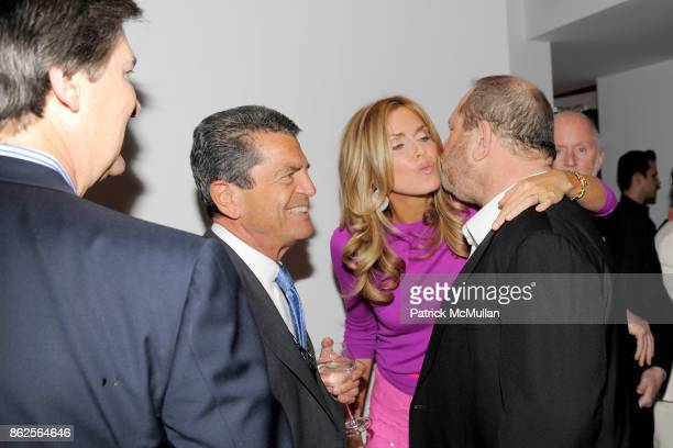 Ken Lowe Kathy Freston Dr Mitch Rosenthal and Harvey Weinstein attend KATHY FRESTON BOOK PARTY HOSTED BY ARIANNA HUFFINGTON AND WENDI MURDOCH at...