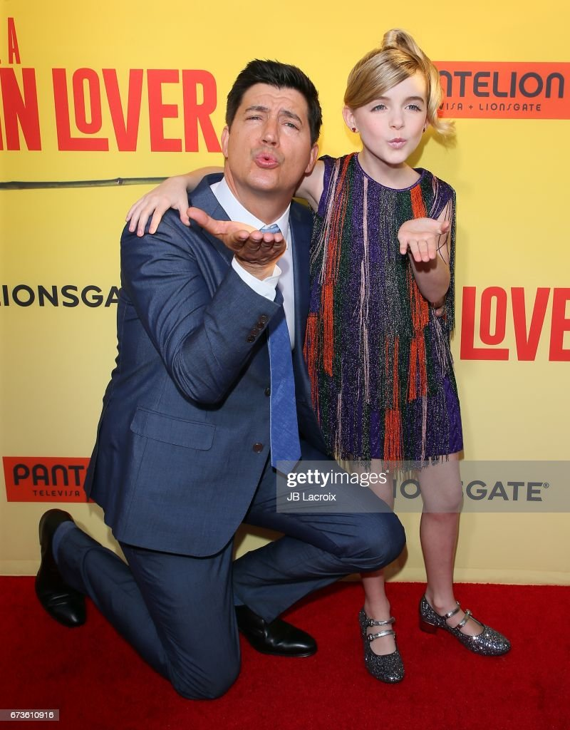 Ken Marino And Mckenna Grace Attend The Premiere Of Pantelion Films' 'how  To Be