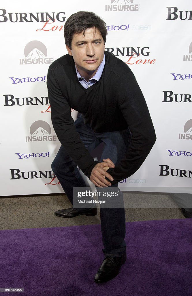Ken Marino attends the 'Burning Love' season 2 premiere at Paramount Theater on the Paramount Studios lot on February 5, 2013 in Hollywood, California.