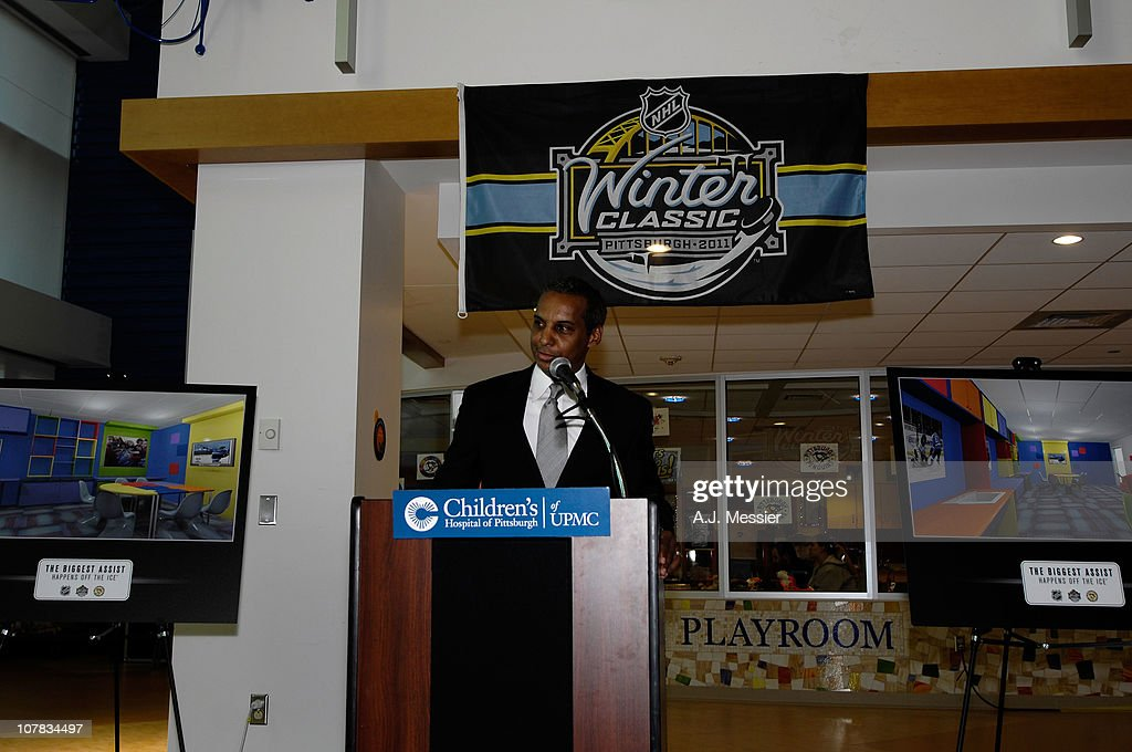 Ken Martin, NHL Vice President of Community, attends the 2011 NHL Winter Classic Childrens Hospital Visit at the University of Pittsburgh Medical Center on December 31, 2010 in Pittsburgh, Pennsylvania.