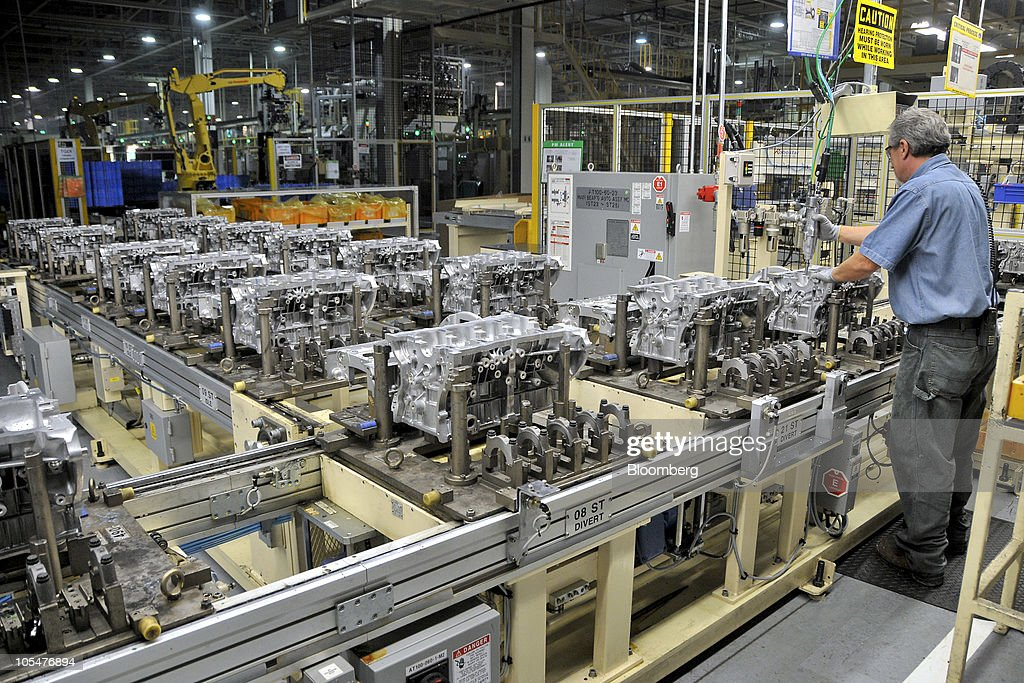 hyundai motors america montgomery manufacturing plant getty images. Black Bedroom Furniture Sets. Home Design Ideas