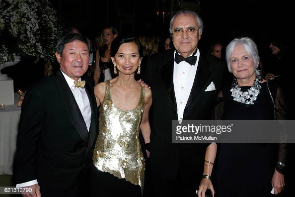 Ken Natori Josie Natori Norman Benzaquen and Marianne Lockwood attend THE ORCHESTRA OF ST LUKE'S 2008 Spring Gala at The Plaza Hotel on May 12 2008...