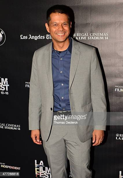 Ken Payumo attends the UN Panel during the 2015 Los Angeles Film Festival at Regal Cinemas LA Live on June 14 2015 in Los Angeles California