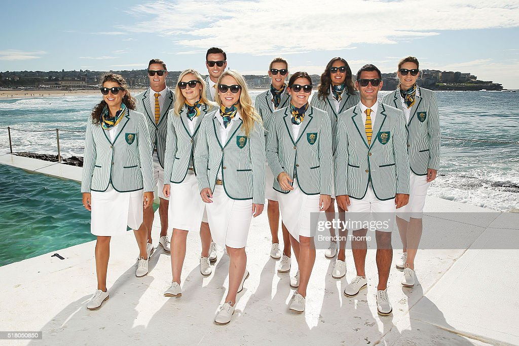 Sportscraft Unveil 2016 Australian Olympic Team Opening Ceremony Uniform