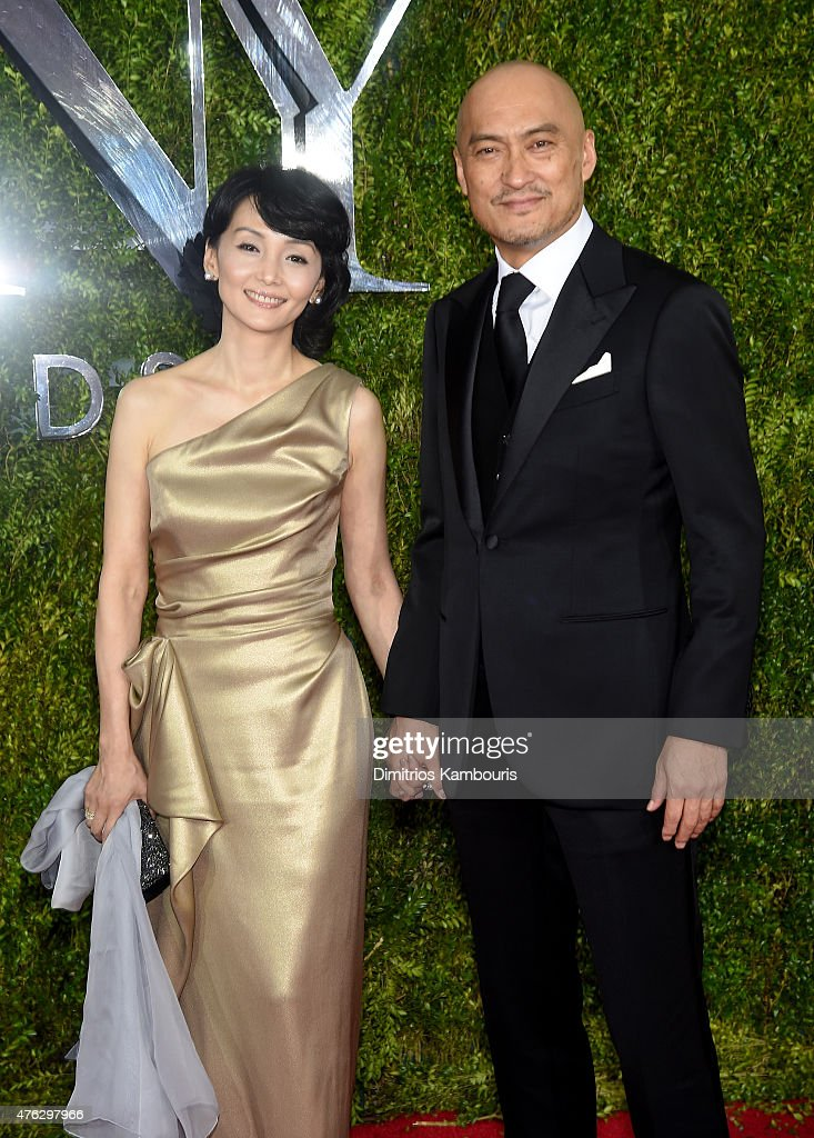 <a gi-track='captionPersonalityLinkClicked' href=/galleries/search?phrase=Ken+Watanabe&family=editorial&specificpeople=214016 ng-click='$event.stopPropagation()'>Ken Watanabe</a> (R) and <a gi-track='captionPersonalityLinkClicked' href=/galleries/search?phrase=Kaho+Minami&family=editorial&specificpeople=4011887 ng-click='$event.stopPropagation()'>Kaho Minami</a> attend the 2015 Tony Awards at Radio City Music Hall on June 7, 2015 in New York City.