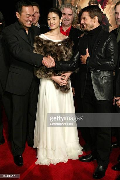 Ken Watanabe Koyuki Billy Connolly and Tom Cruise