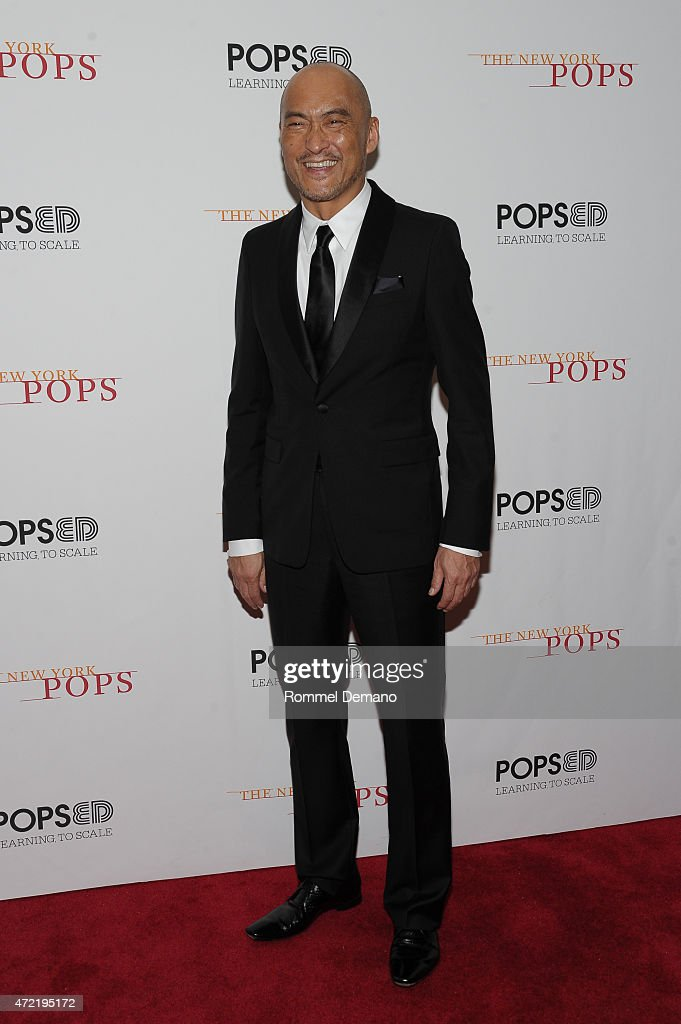 <a gi-track='captionPersonalityLinkClicked' href=/galleries/search?phrase=Ken+Watanabe&family=editorial&specificpeople=214016 ng-click='$event.stopPropagation()'>Ken Watanabe</a> performs at The New York Pops 32nd Birthday Gala at Carnegie Hall on May 4, 2015 in New York City.