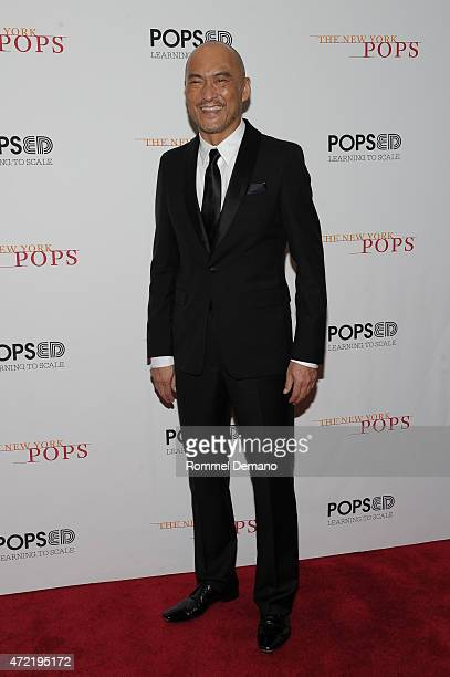 Ken Watanabe performs at The New York Pops 32nd Birthday Gala at Carnegie Hall on May 4 2015 in New York City