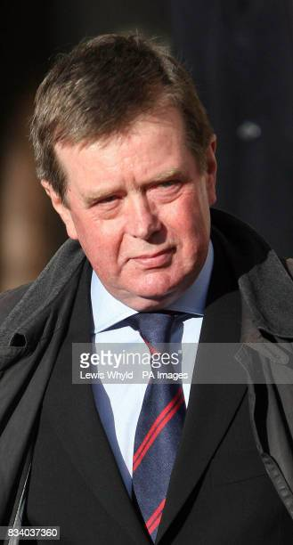 Ken Wharfe leaves the High Court in London after giving evidence to the inquest into the death of Diana Princess of Wales