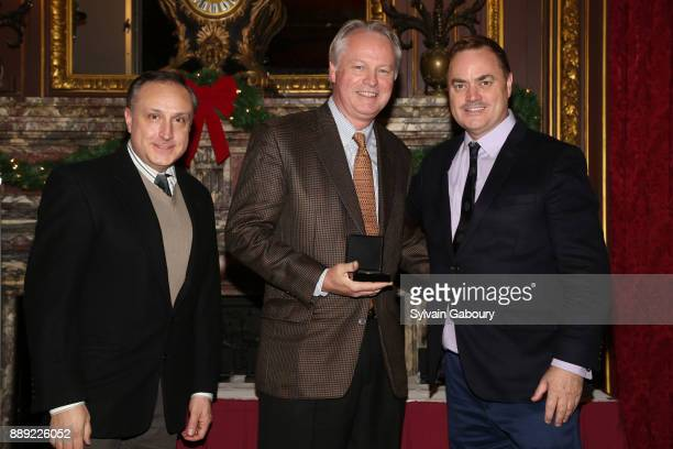 Ken Yost Eric J Smith and ICAA President Peter Lyden attend The Institute of Classical Architecture Art Celebrates the Sixth Annual Stanford White...